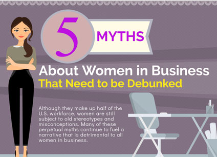 Women in Business Myths Debunked