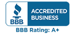 QuickBridge BBB A plus rating logo