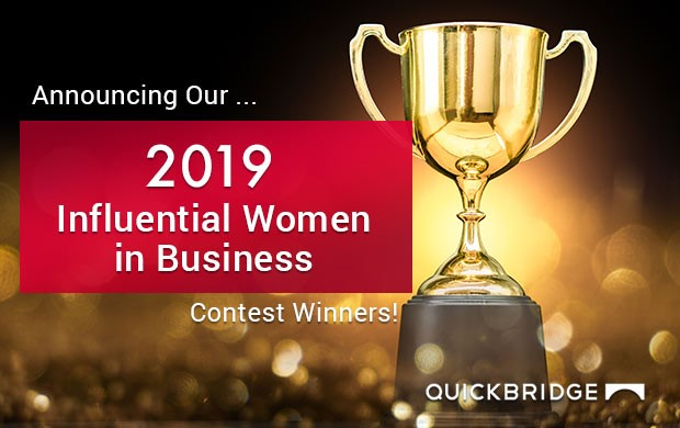 QuickBridge Press Release - Women in Business Contest Winners 2019