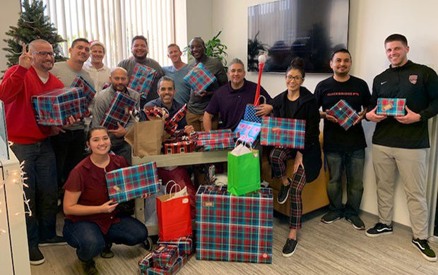 QuickBridge Partners with OC United and Veterans Outreach OC for Giving