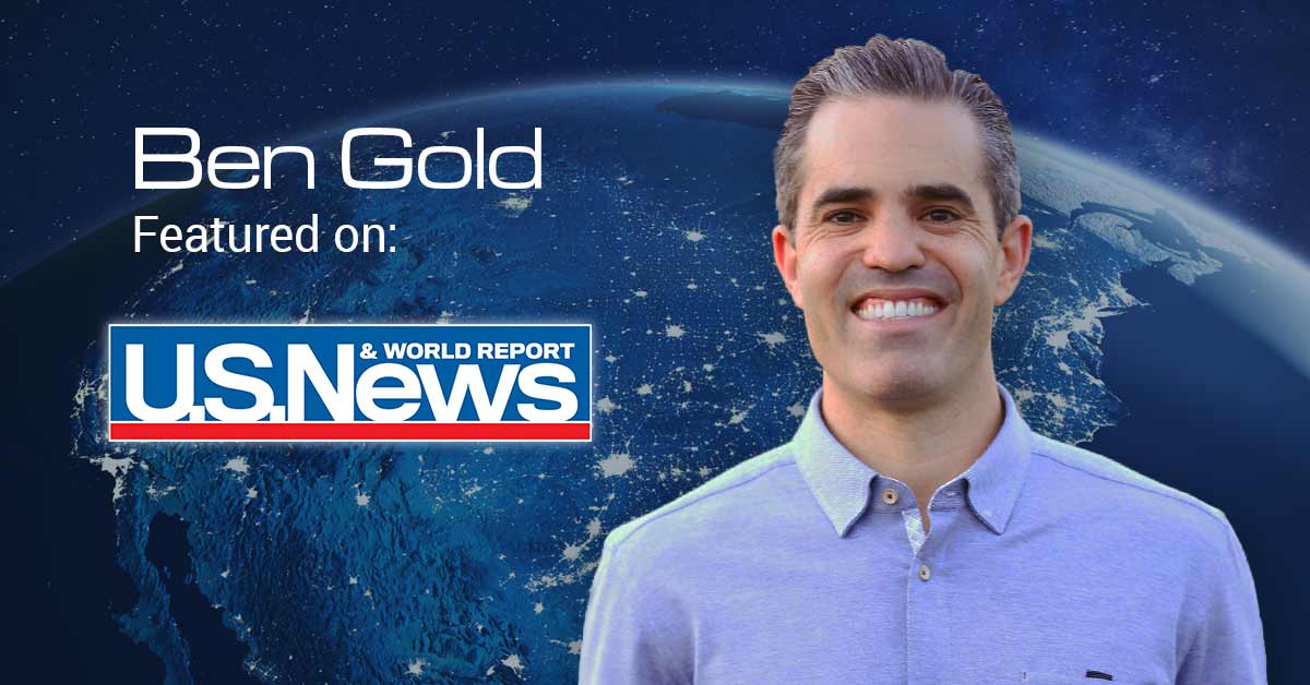 Ben Gold as Featured on U.S. News and World Report